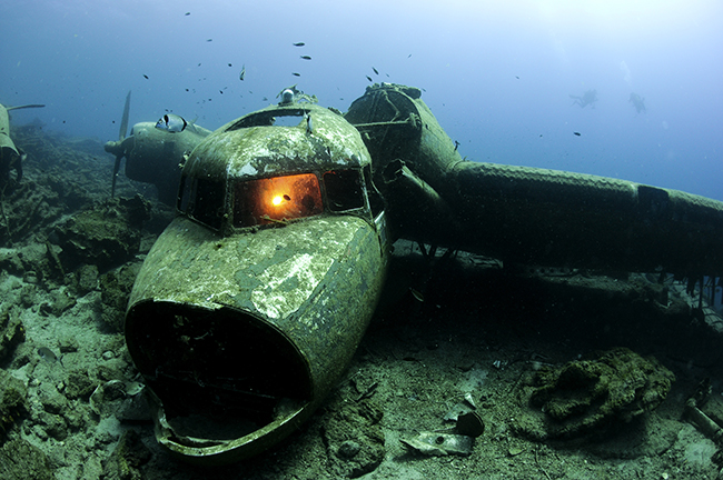 Bodrum plane wreck - Diving in Turkey