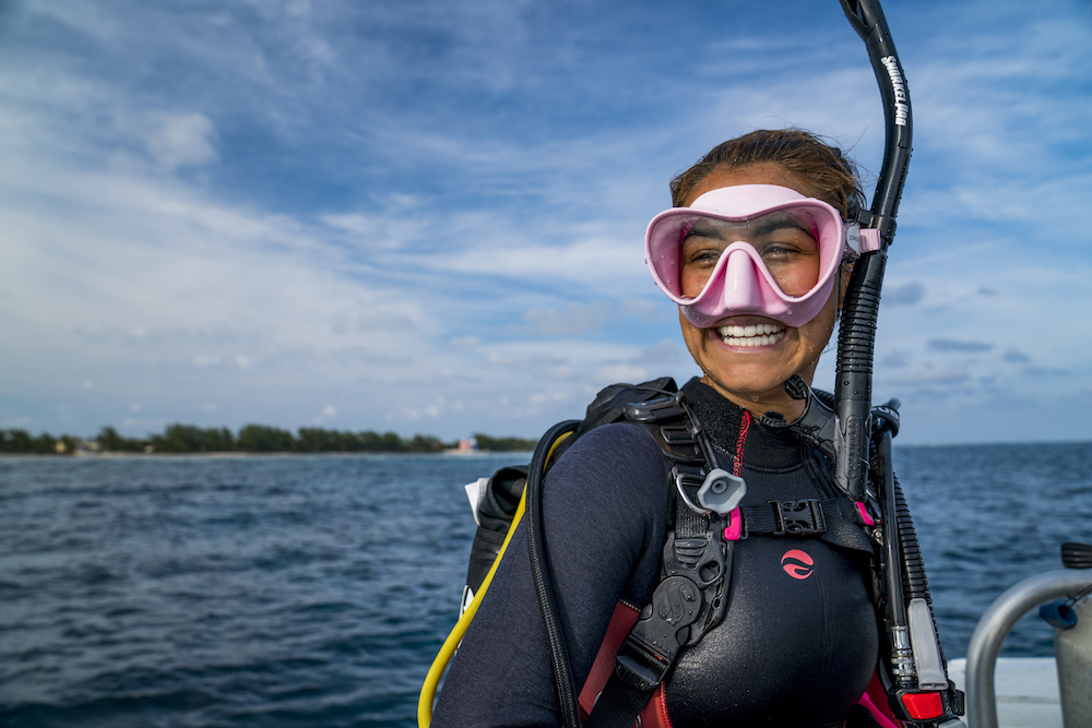 padi women's dive day