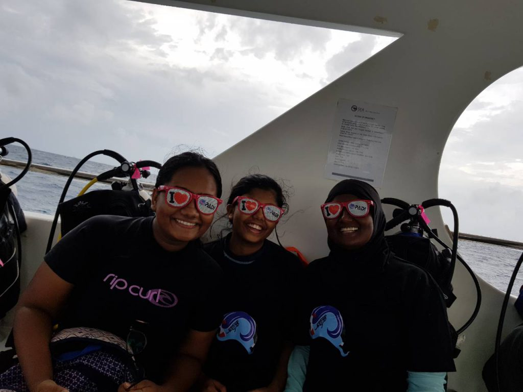 Maldives PADI Women's Dive Day Event