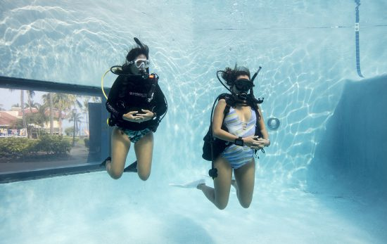 Introduced my friends to the world of scuba diving
