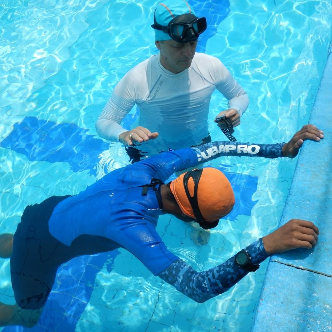 PADI - Freediver - Freediver Instructor - Pool