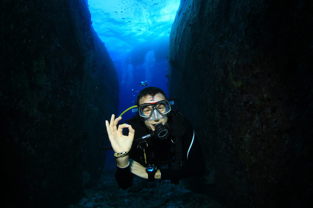 Mental Health and Scuba Diving - diver