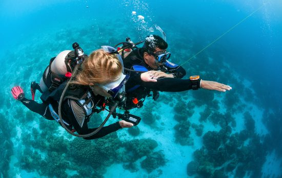 Bonaire - Dive Instructor - Signals