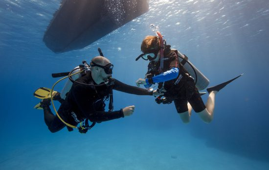 Build scuba skills to remove fear