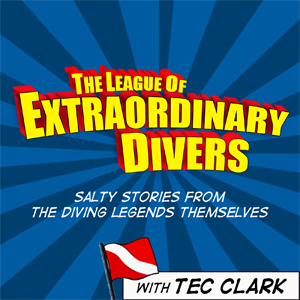 The League of Extraordinary Divers Logo