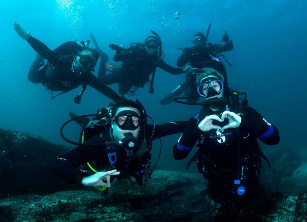 Dive trips with friends