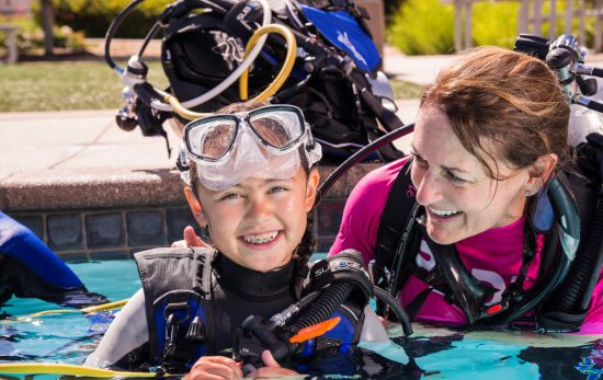 Scuba Diving Kids - Kids - Scuba Diving - Mum and Daughter