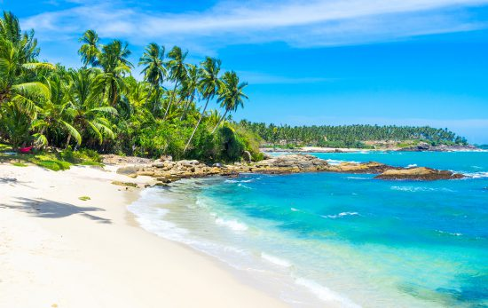 Sri Lanka - Beach - Blue Water - Island