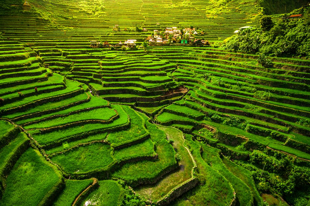 Ifugao rice terraces in Batad, northern Luzon, Philippines