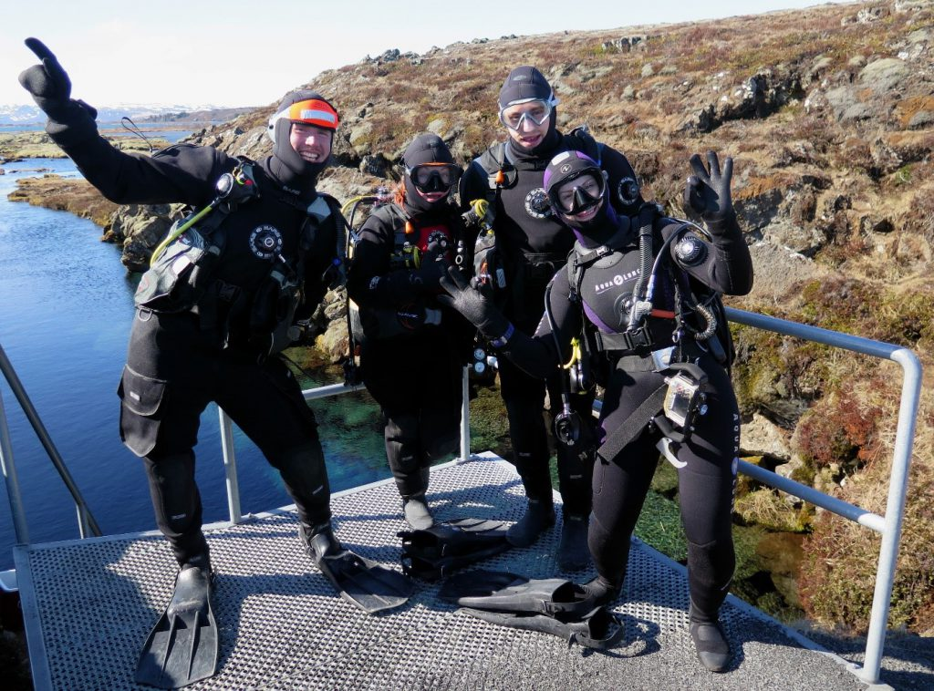 Drysuit diving