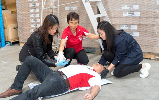 Korean - First Responder - EFR - Emergency First Response - CPR