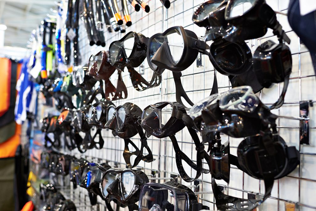 Scuba Equipment - Masks