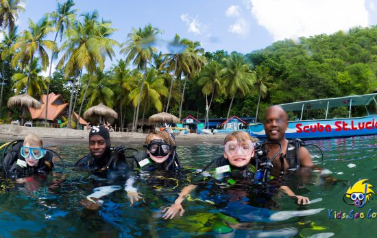 kids sea camp st lucia
