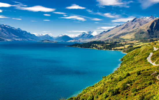New Zealand - Open Water - Mountains